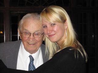 J & Grandpa 2010