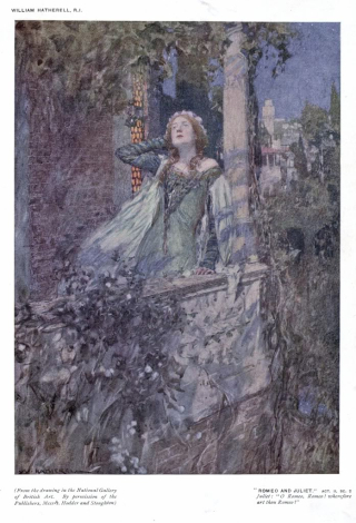 Wherefore_Art_Thou_Romeo_-_William_Hatherell