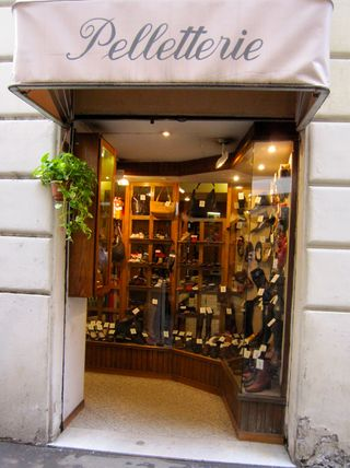 Rome shoe shop
