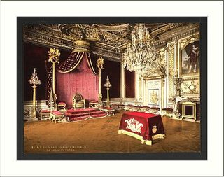 ML Fontainebleau Palace throne room