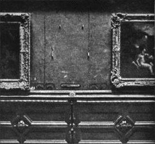 4. Stolen Mona Lisa
