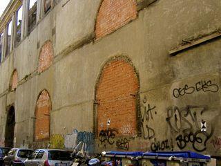 Bricked-up windows Sant' Orsola