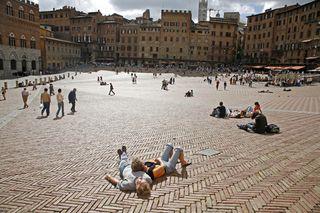 Siena piazza