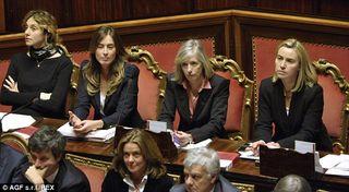 Italian women ministers