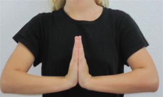 Prayer gesture