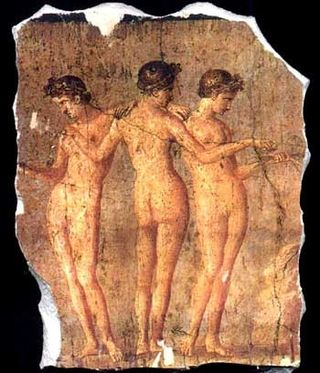 Pompeii_three_graces_fragment