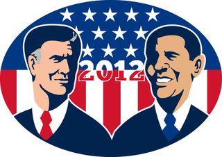 Obama:romney