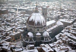 Duomo sotto la neve, 2010